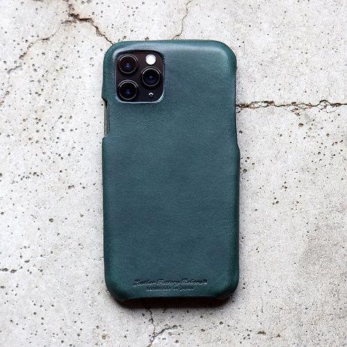 Roberu Italy Leather iPhone Case - Deep Green