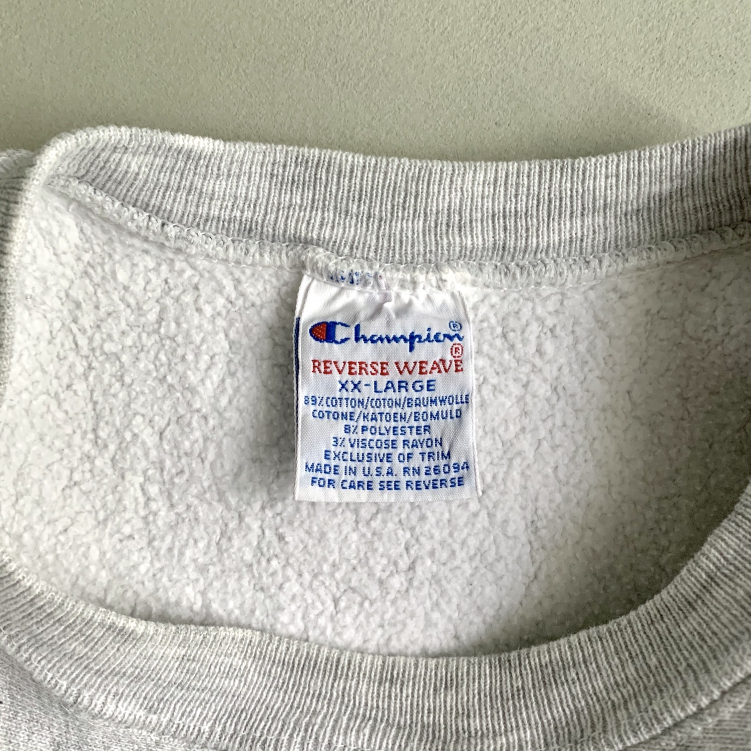 Thumbnail: Champion 90s Sweater Made in USA