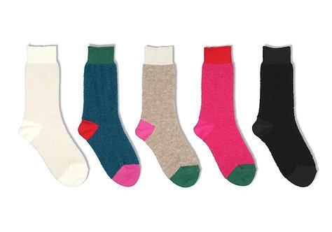 BRU NA BOINNE × decka quality Socks Alpaca Boucle Sock