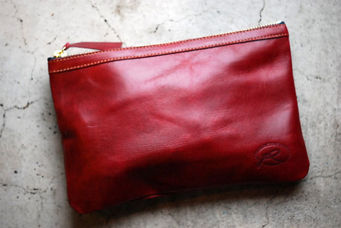 Roberu Leather Camera Pouch - Red