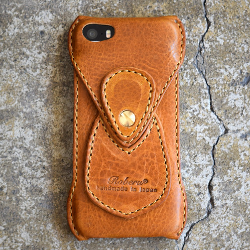 Roberu iPhone SE Case - Camel