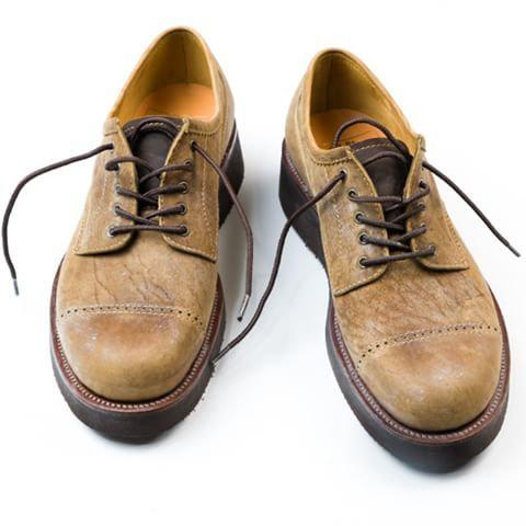 Anchor Bridge Toe Cap Work Shoes - Kudu