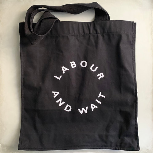 Labour and Wait Grocery Tote