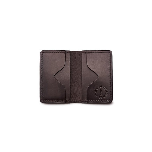 Filson Bridle Leather Card Case - Brown