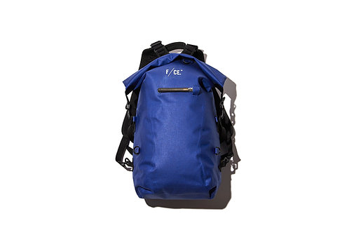 F/CE. No Seam Zip Lock Backpack - Blue