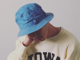 【20% OFF・MORNO INDIGO SAFARI HAT】