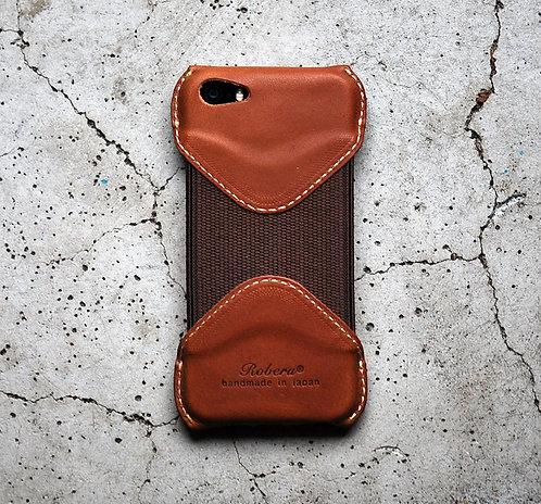 Roberu iPhone 5s/SE Case - Bulgaro Brown
