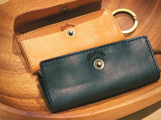 【ROBERU ITALY LEATHER NEW KEY CASE・HANDMADE IN JAPAN】