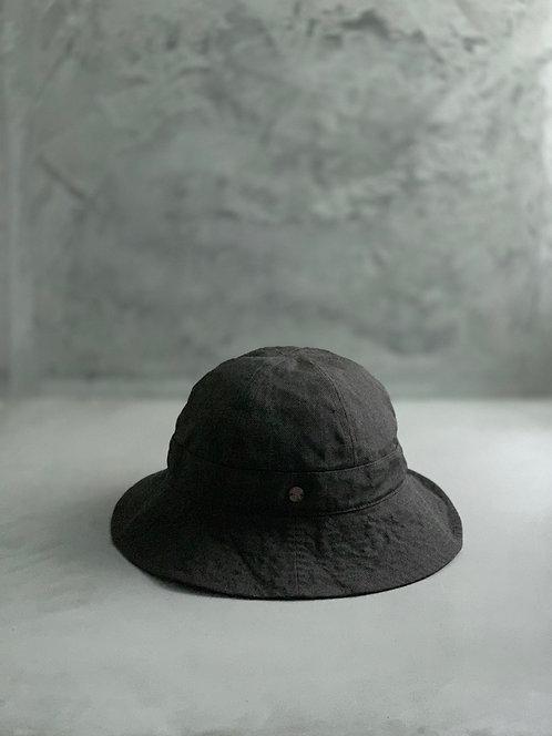 Morno Paper Cloth 6 Panels Bucket Hat - Mocha