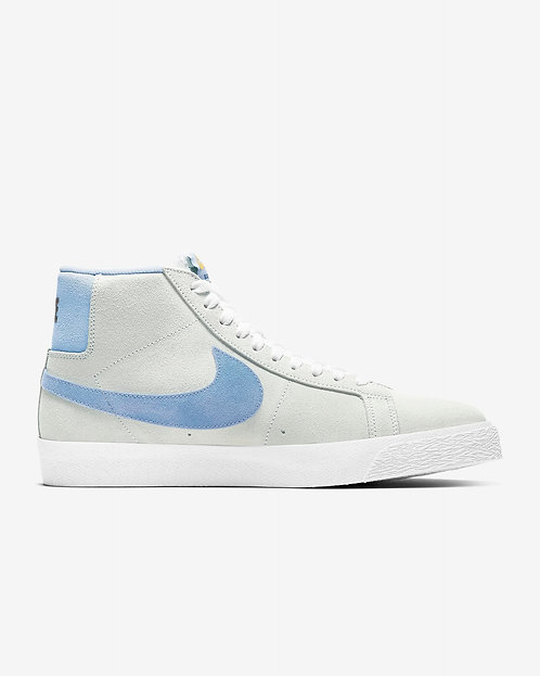 Nike SB Zoom Blazer Mid - Soft Grey Baby Blue