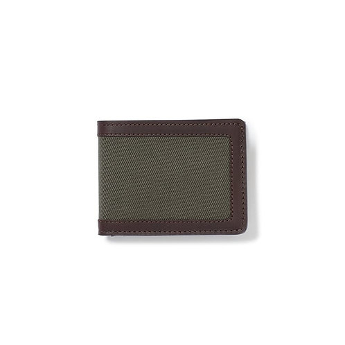 Filson Rugged Twill Outfitter Wallet - Otter Green