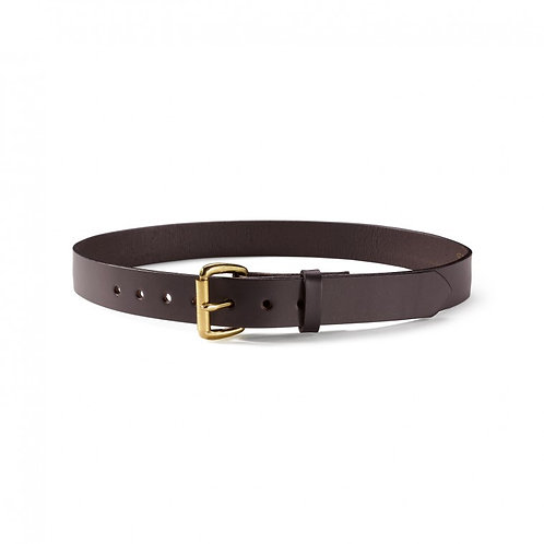 "Filson 1-1/4"" Leather Belt"
