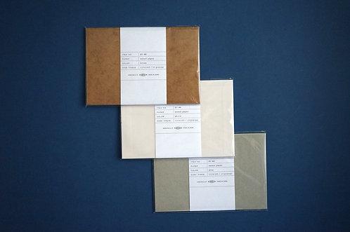 Mucu Waxed Envelope