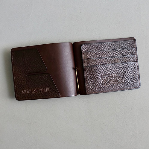 Anchor Bridge for Modern Times Italy Vachetta Leather Money Clip