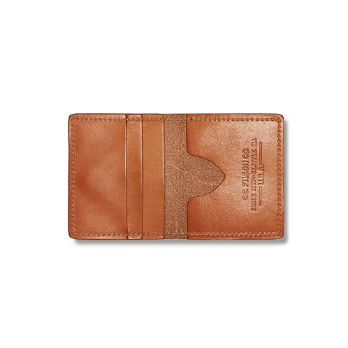Filson Bridle Leather Cash and Card Case - Tan
