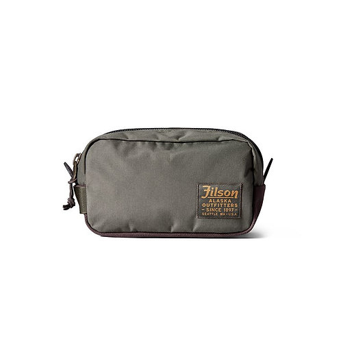 Filson Ballistic Nylon Travel Pack - Otter Green