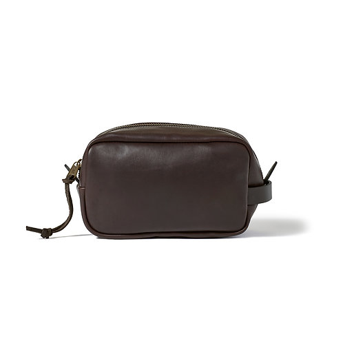 Filson Weather Proof Leather Travel Kit