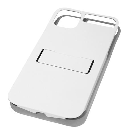 Claustrum Flap 11 Pro Max iPhone Holder - White