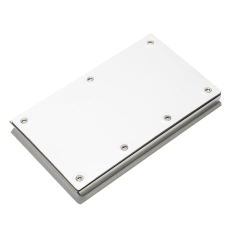 Claustrum Serve Biz Card Case - Leather White