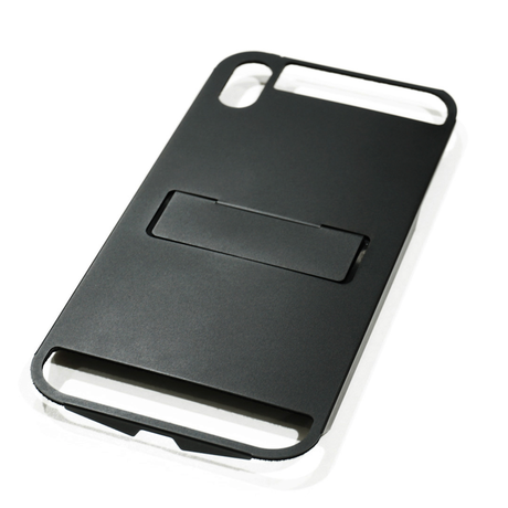 Claustrum Flap MAX iPhone Holder - Black Matte
