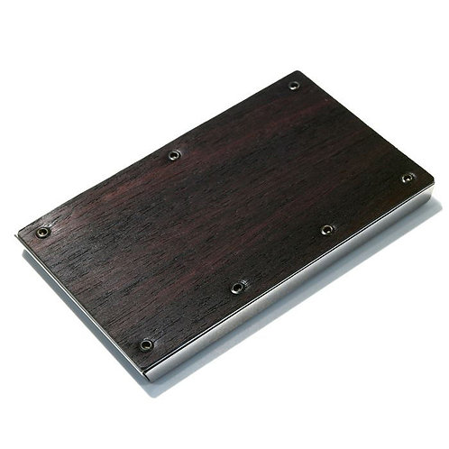 Claustrum Serve Biz Card Case - Rose Wood