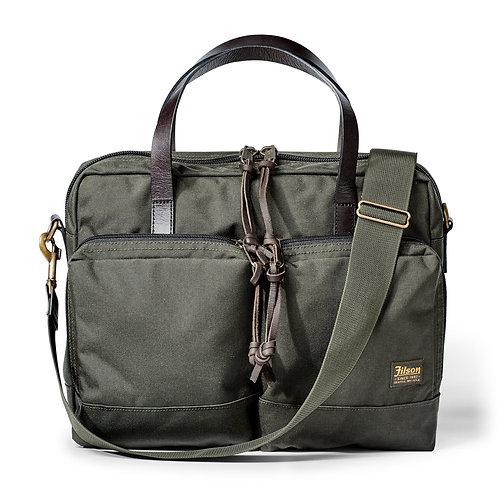 Filson Ballistic Nylon Dryden Briefcase - Otter Green