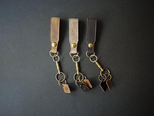 Anchor Bridge Kudu Leather Key Holder - Q.R.