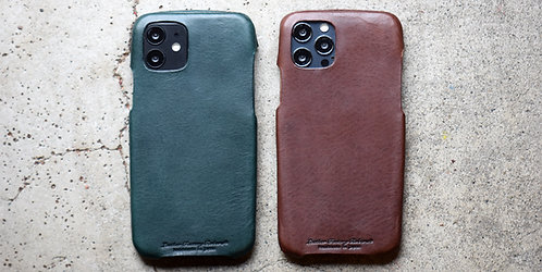 Roberu Italy Leather iPhone 12 / 12 Pro Case