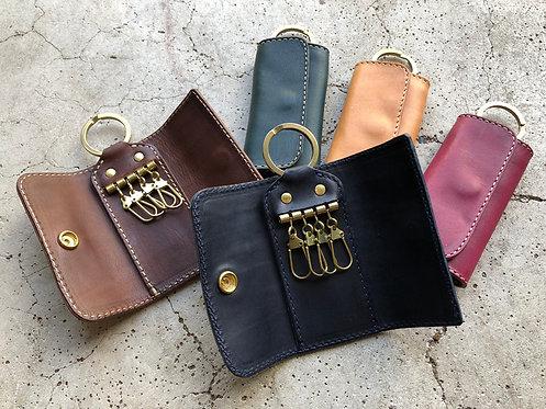 Roberu Compact Key Case Italy Vachetta Leather
