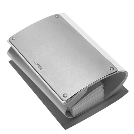Claustrum Articular Wallet S - White