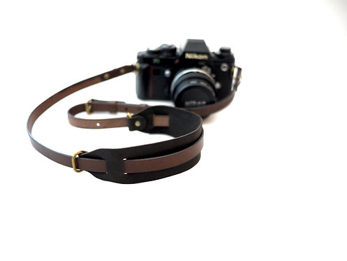 Anchor Bridge New Camera Strap - Kudu Dark Brown
