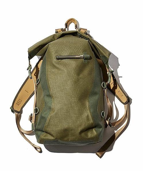 F/CE. No Seam Zip Lock Backpack - Olive