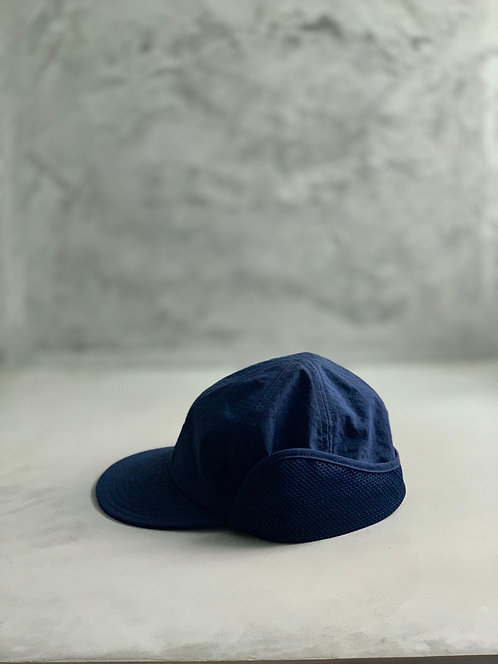 Morno Nylon Field Cap - Navy