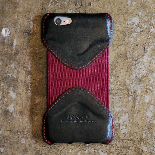 Roberu iPhone 6 / 6s Case - Black/Red