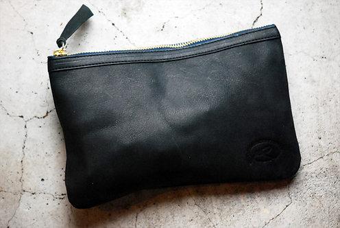 Roberu Leather Camera Pouch - Black