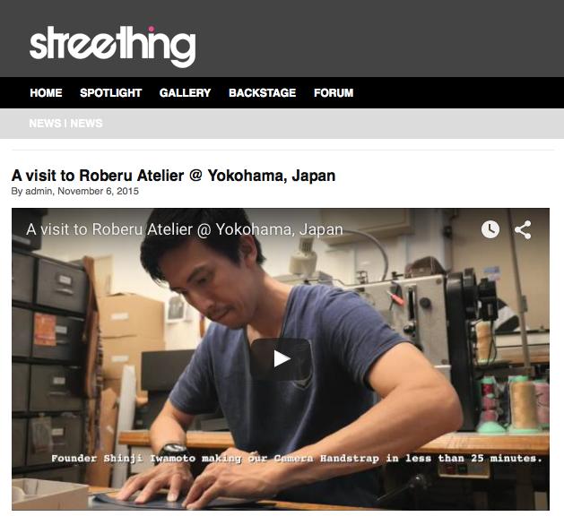 STREETHING - Roberu Shading Leather iPhone6s/6 Case