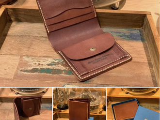 【新品介紹・ROBERU ITALY LEATHER BILLFOLD COIN WALLET】