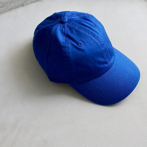 Twill Baseball Cap - Royal Blue