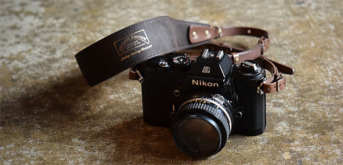 Anchor Bridge Camera Strap - Kudu/Dark Brown