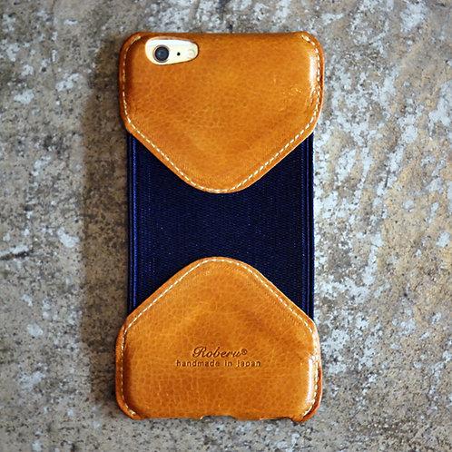Roberu iPhone 6P /6sP Case - Camel/Navy