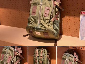 【F/CE. SATIN TRAVEL BACKPACK】