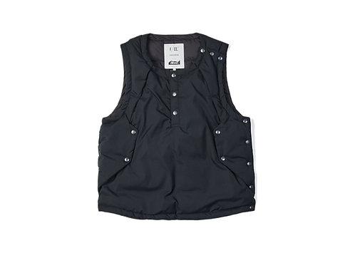 F/CE. Pliantex Down Vest - Black