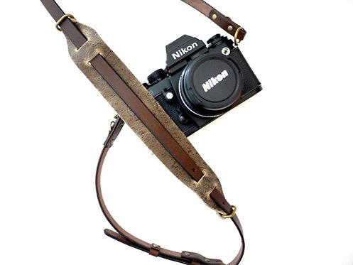 Anchor Bridge New Camera Strap - Kudu Choco