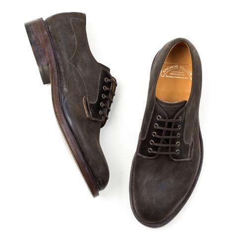Anchor Bridge Postman Shoes - Kudu Dark Brown