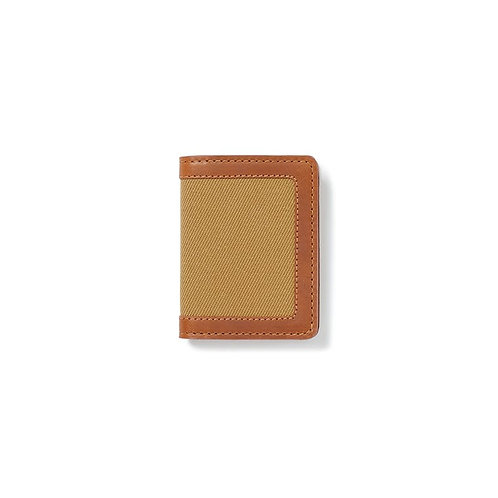 Filson Rugged Twill Outfitter Card Case - Tan