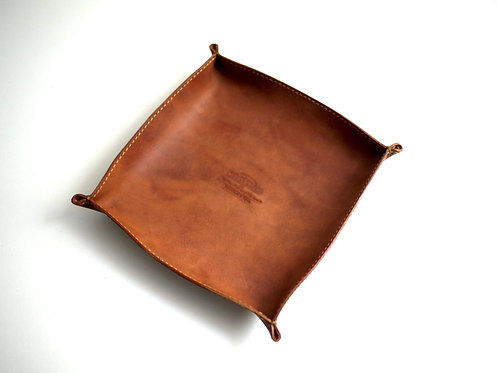 Roberu for Modern Times Leather Tray L - Camel