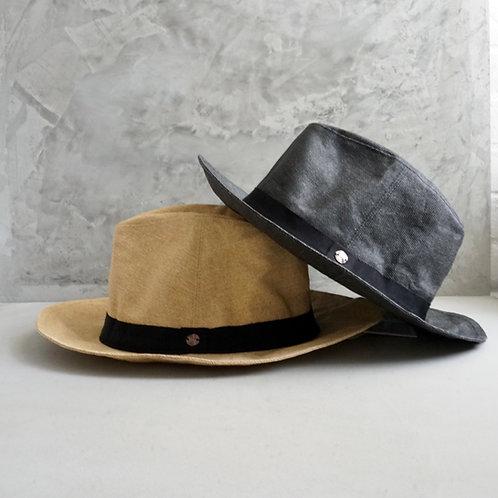Morno Paper Cloth Long Brim Hat