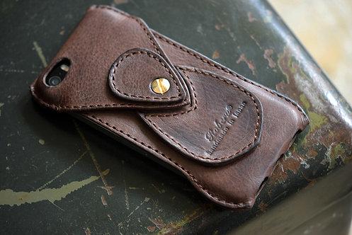 Roberu Italy Vachetta leather iPhone SE Case
