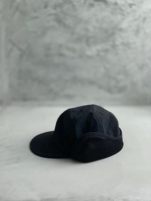Morno Nylon Field Cap - Black