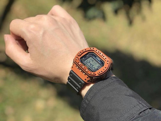 【HANDMADE IN JAPAN・ARMADILLO G-SHOCK LEATHER COVER】